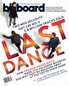 Swedish House Mafia  fro Billboard Magazine